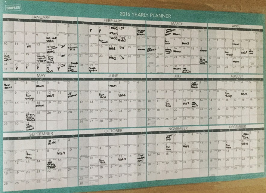 Planning your planting calendar