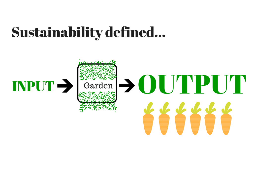 what is permaculture? input