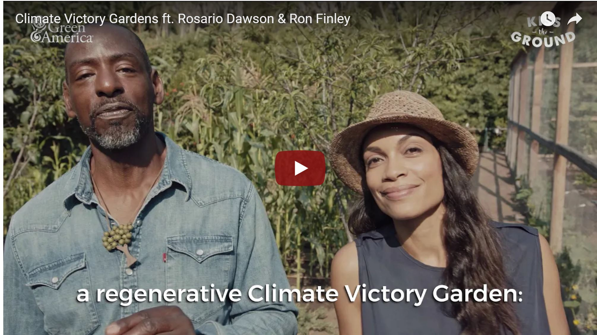 Climate Victory Gardens with Ron & Rosario